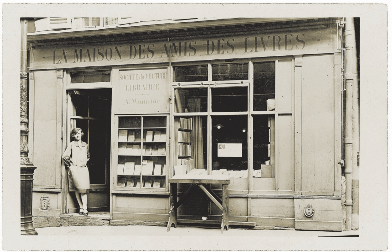 """image for Librairie """"La Maison des Amis des Livres""""/ Adrienne Monnier"""