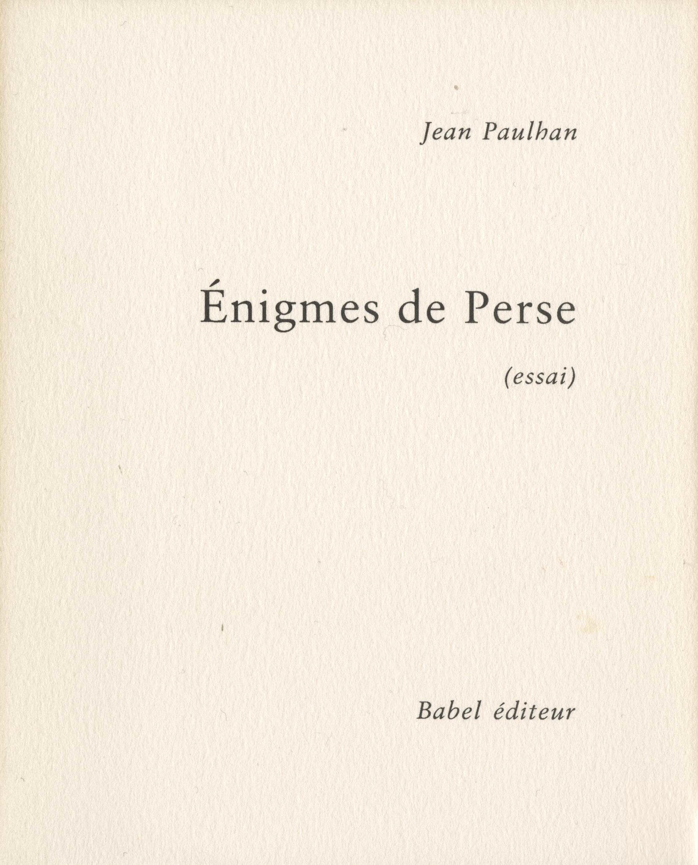 image for Babel éditeur