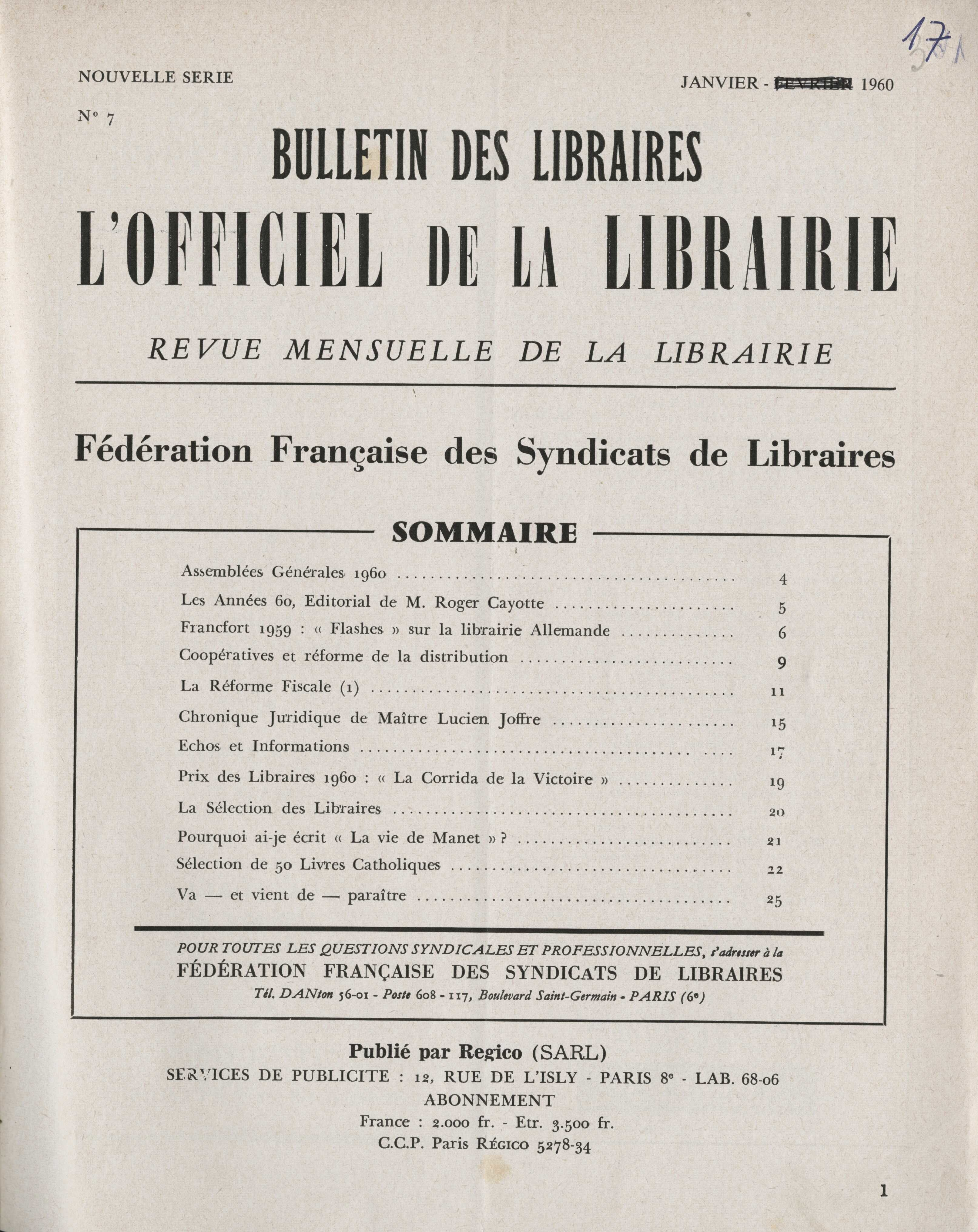 image for Formations et syndicats de libraires
