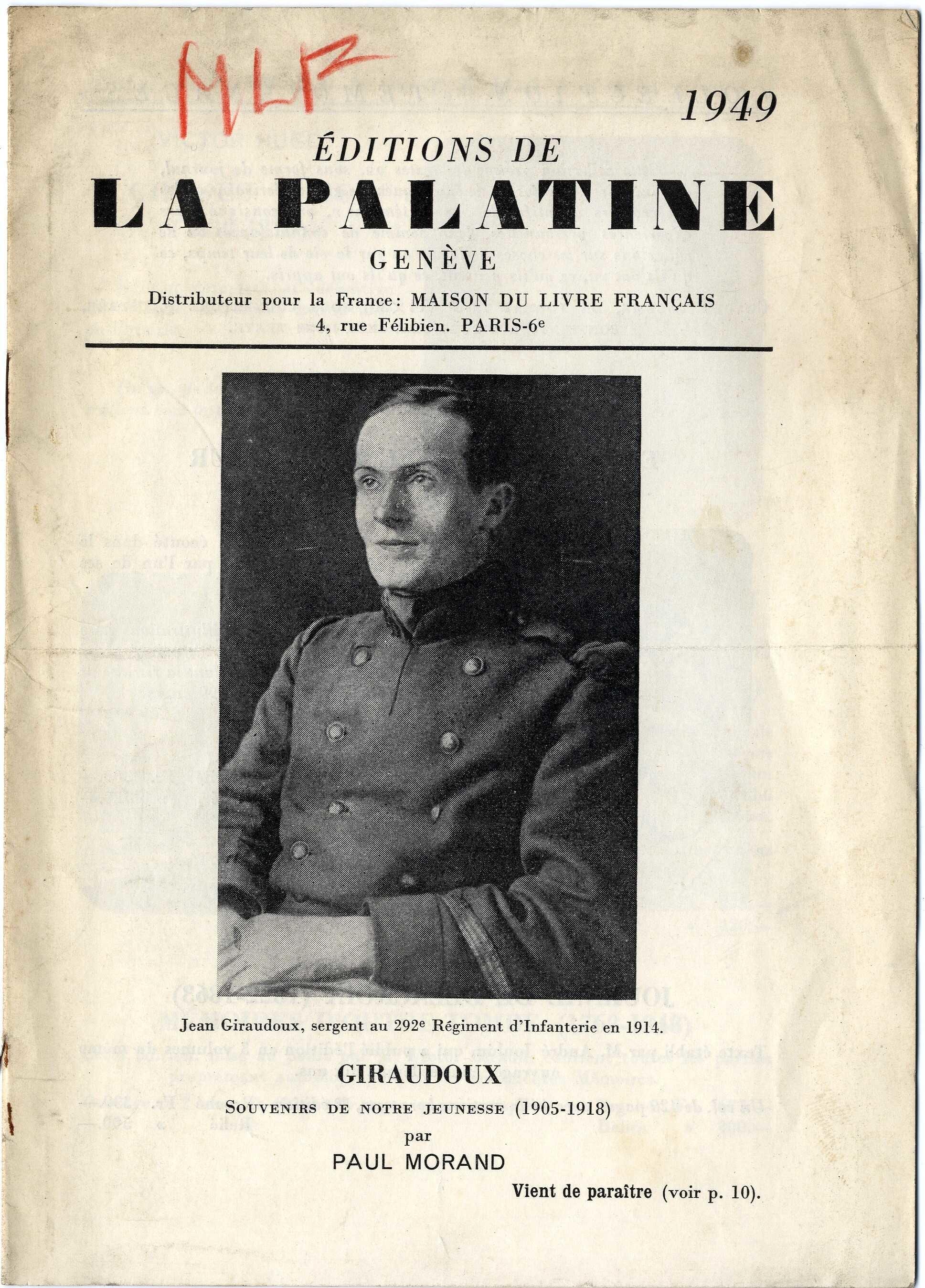 image for La Palatine