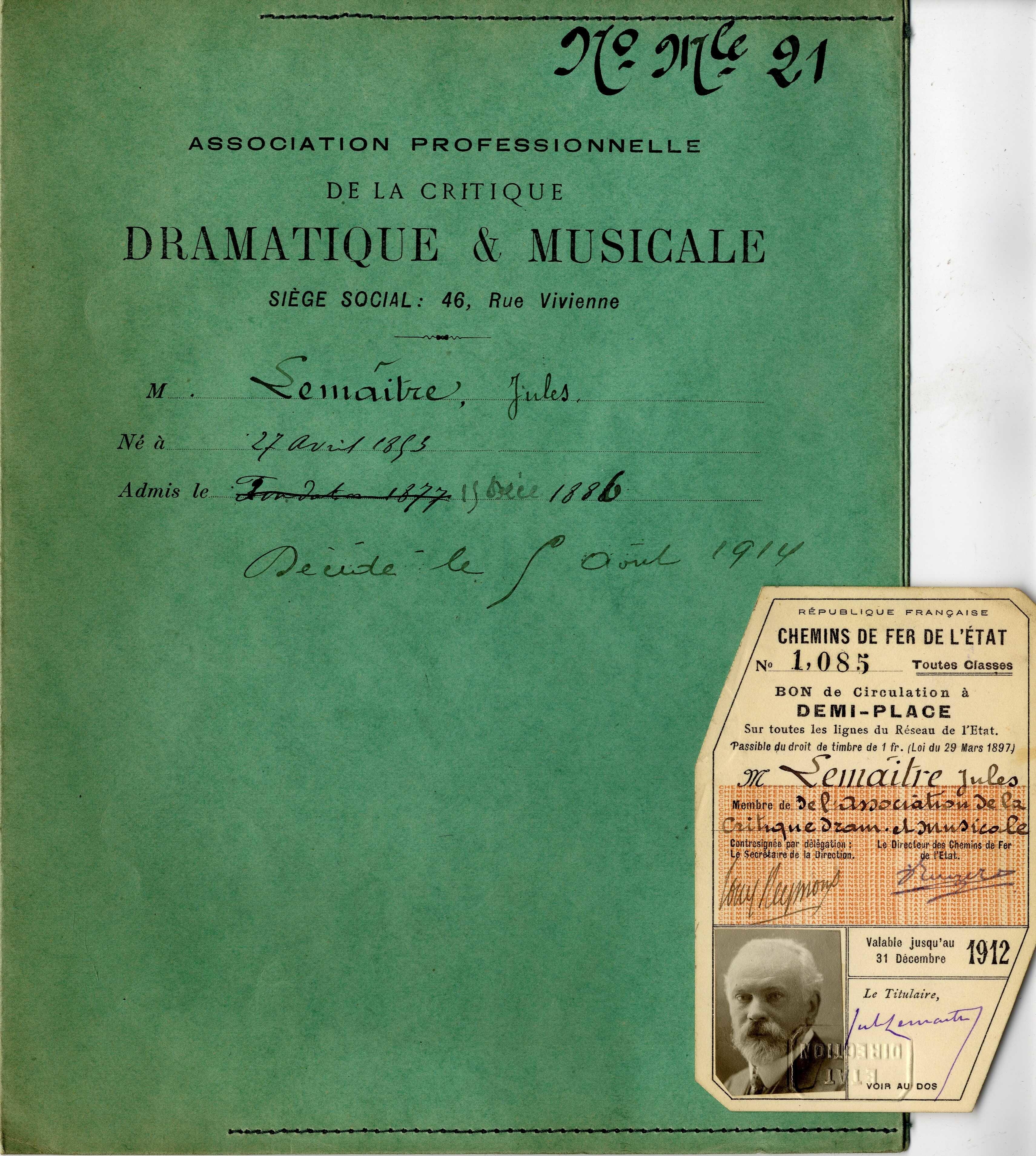image for Syndicat professionnel de la critique dramatique et musicale (Paris)