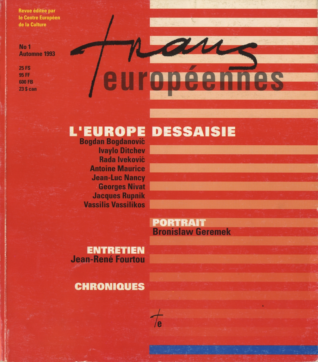 image for Transeuropéennes