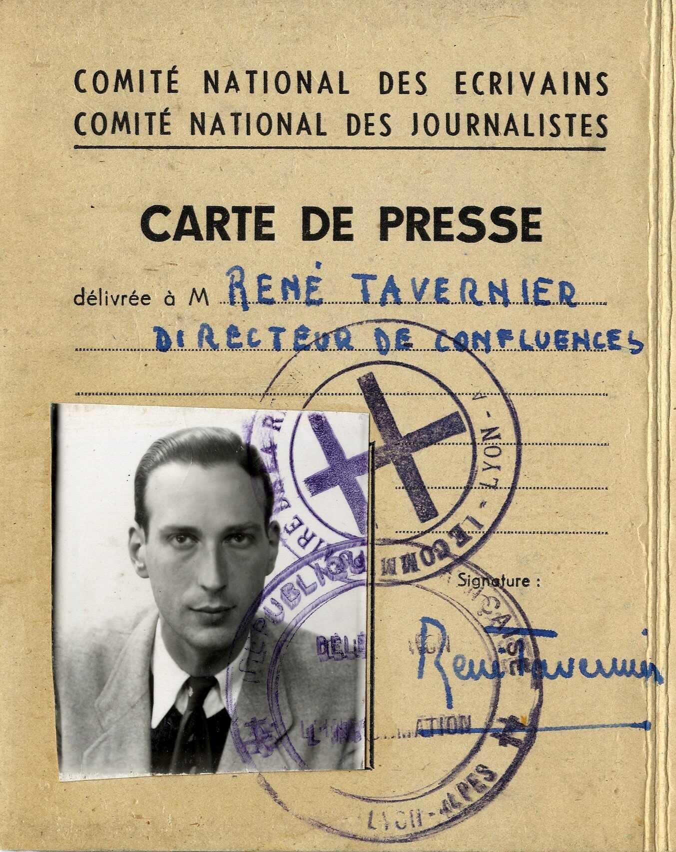 image for Tavernier, René (1915-1989)